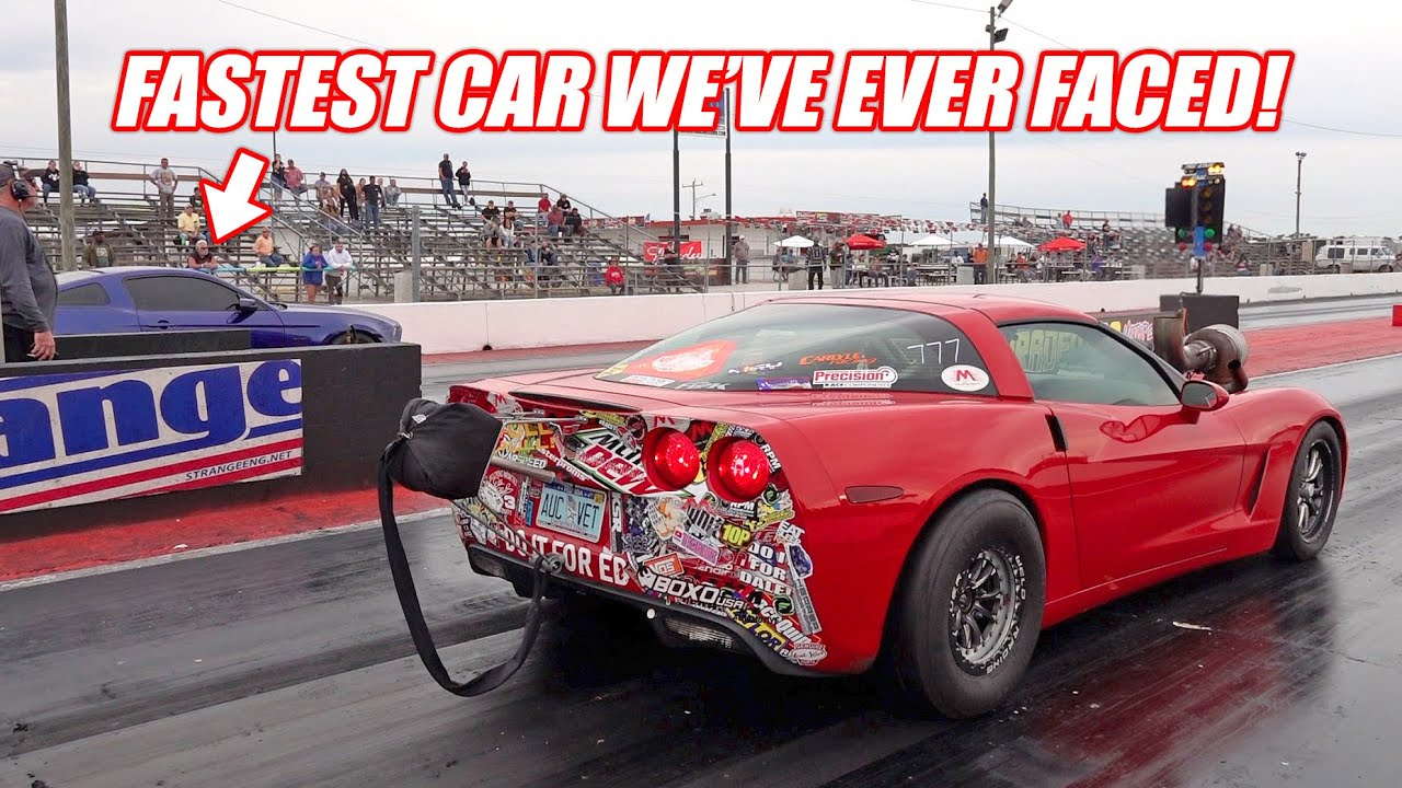 The CRAZIEST Race of My Life!!! 7.1 Second Twin Turbo Mustang vs. Ruby!!