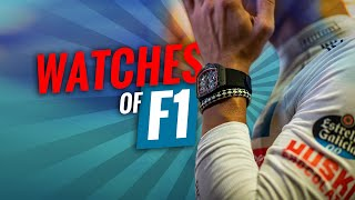WATCHES OF FORMULA 1
