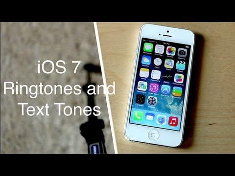 iOS 7: New Ringtones and Text Tones
