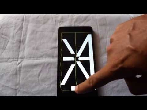 LENOVO K3 NOTE TOUCH PANEL TEST