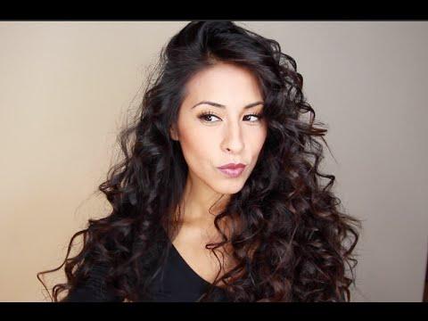 Big Hair Tutorial - Volumous Tight Curls - Rissrose2