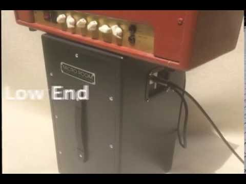 MICRO ROOM vs DEMETER SSC-1 Silent Speaker Cabinet - isolation cabinet guitar iso cab
