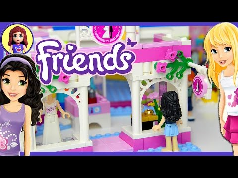 Lego Friends Heartlake Mall Build  Review and Play Part 2 - Kids Toys