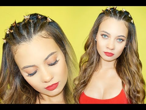 90's TWISTS + BUTTERFLY CLIPS | 90's SERIES| Brittney Gray
