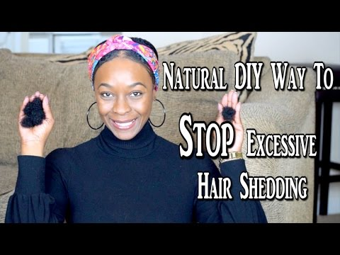 Stop Excessive Hair Shedding Fast and Natrually | Tea Rinse For All Hair Types