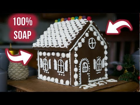 Making a Soap Gingerbread House | Royalty Soaps