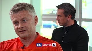Gary Neville Meets Ole Gunnar Solskjaer | Discussing the Manchester Derby & Man United's 4-0 loss