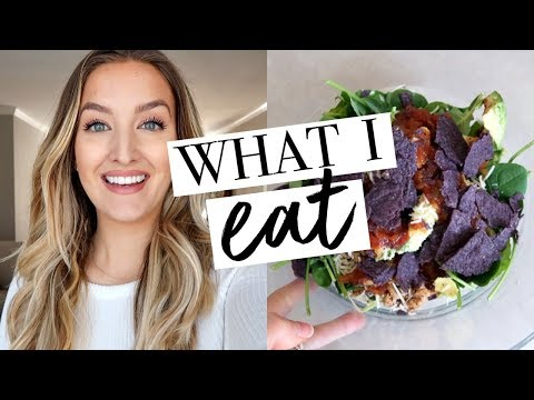 WHAT I EAT IN A DAY | Becca Bristow