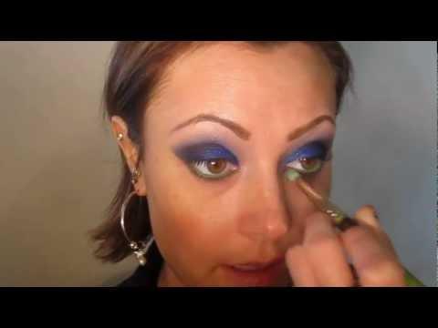 Clue Board Game Series: Mrs. Peacock Makeup Tutorial