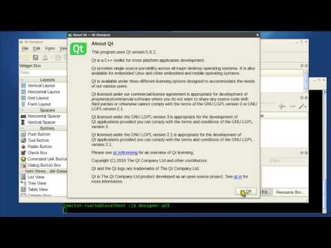 Qt5 5.6.2 + Qt Creator 4.1.0 + GCC 4.8.5 para CentOS 6.7