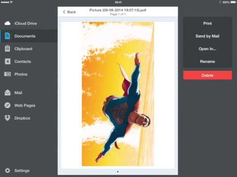 PDF Converter iPad Preview