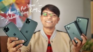 GIVEAWAY + Unboxing Apple iPhone 11 Pro & Pro Max from Hong Kong & Dubai