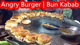 Tawa Chicken Burger | Anda Burger | Tawa Tikki Burger | Angry Burger | Egg Burger|Indian Street Food