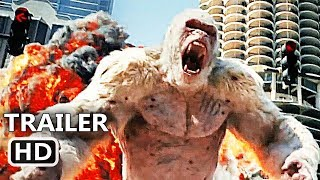 RАMPAGE Official Trailer (2018) Dwayne Johnson, Giant Ape Action Movie HD