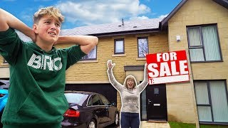 I Put Morgz NEW HOUSE For Sale & He Freaked Out!! [MUST WATCH]