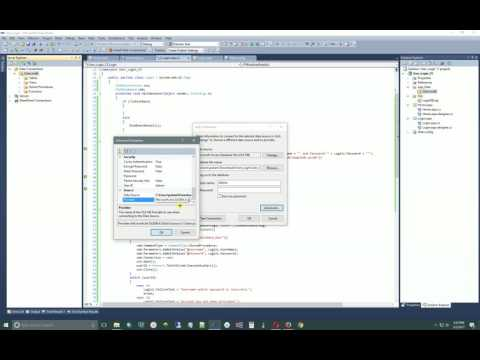 Visual Studio - Connect to Database - Find Access Database Connection String