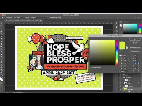Church Templates for Photoshop & Illustrator