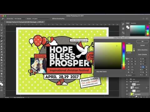 Church Templates for Photoshop & Illustrator