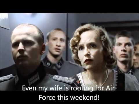 Go Air Force Sink Navy Hitler Rant