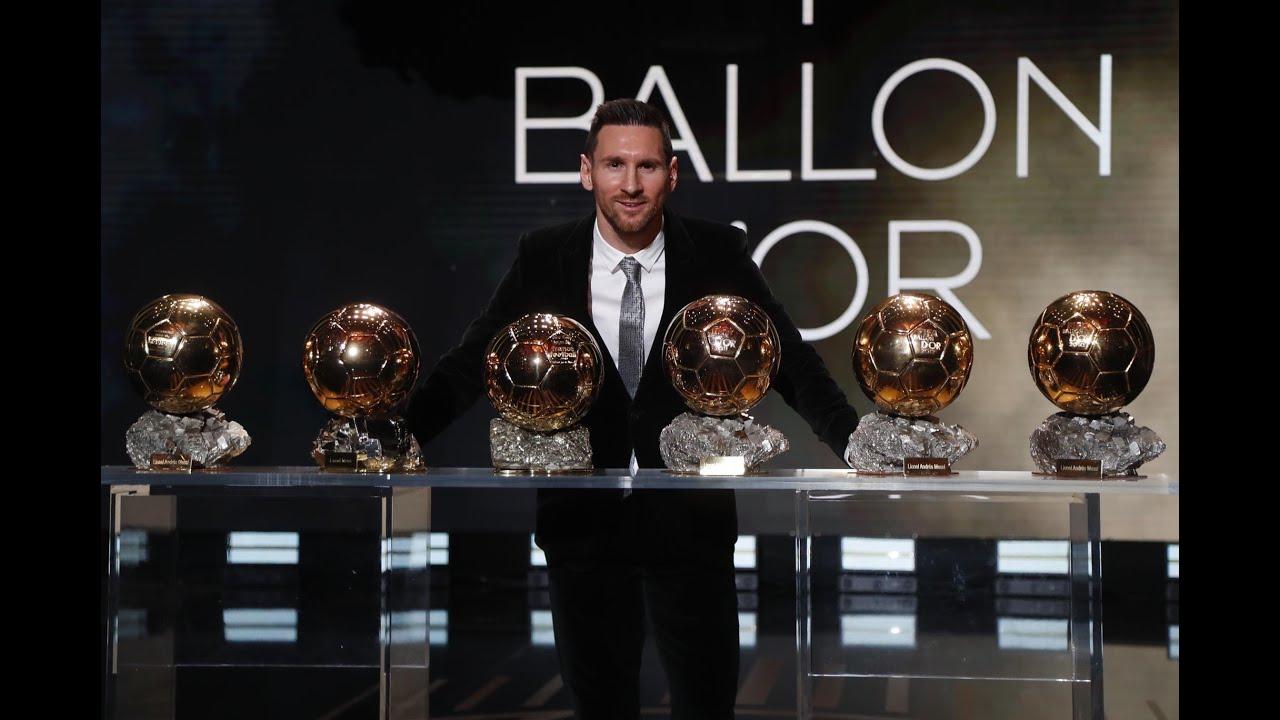 Leo Messi, six-time Ballon d'Or winner