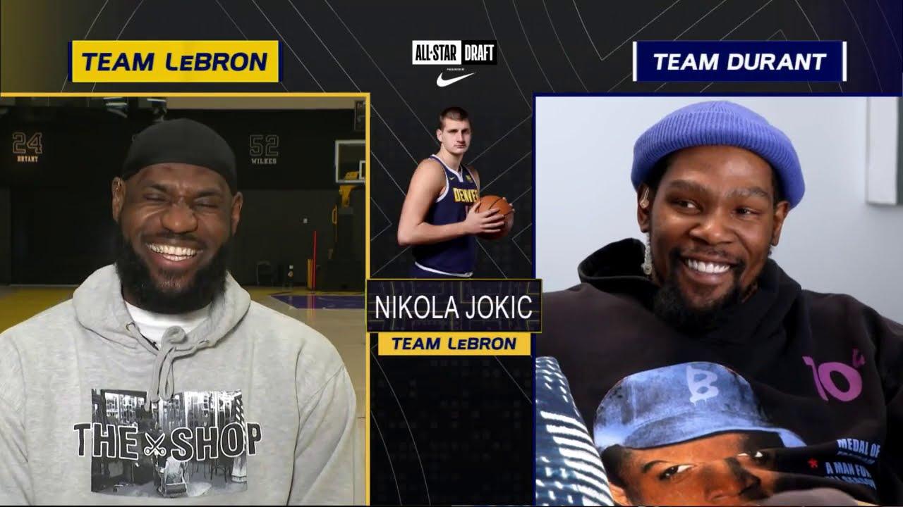 Team LeBron & Team Durant Draft | 2021 #NBAAllStar