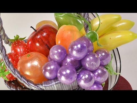 Isomalt (Sugar) Fruit Basket Tutorial - Overview