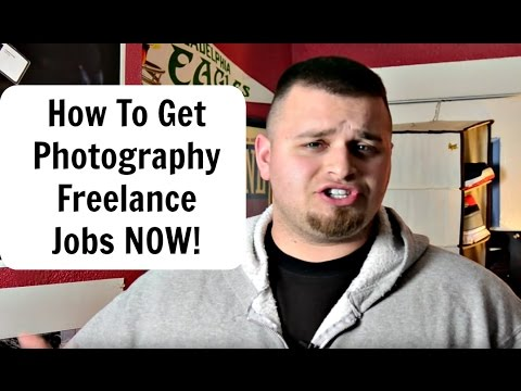 How to Get Your FIRST Freelance Photography Job NOW!