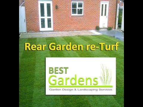 Rear Garden re-Turf