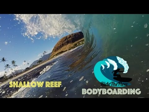 SHALLOW REEF BIG WAVES?????!!!! - R.T.F POV Bodyboarding
