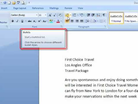 Line & Paragraph Spacing in Word