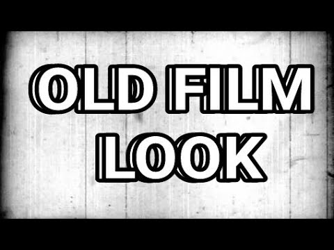How to give old film look to your videos in kinemaster.