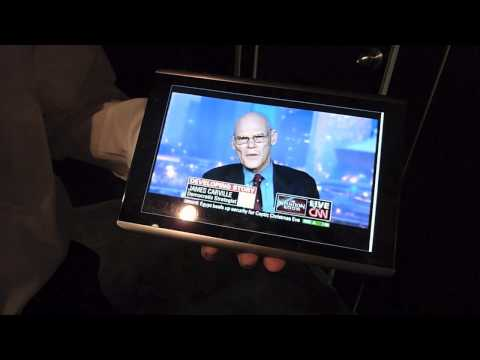FiOS TV on an Android tablet over LTE & VCast Android app store