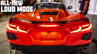 HEAR THE NEW 2020 C8 CORVETTE CONVERTIBLE HARDTOP IN-ACTION! ft. C8.R First Look Reveal