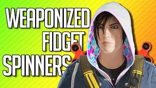 Download WEAPONIZED FIDGET SPINNERS | Rainbow Six Siege Video