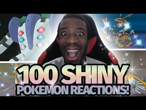 100 LIVE Shiny Pokemon Reactions!   Pokemon [HGSS/XY/ORAS] Shiny Montage!