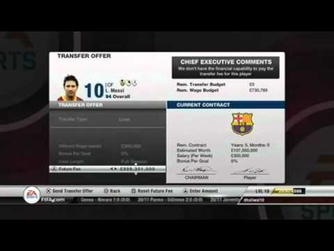 fifa 12 career mode glitch get any player...