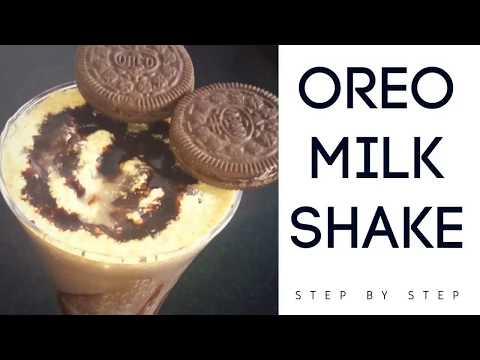 ओरियो मिल्कशेक | Oreo Milkshake Without Icecream | How To Make Oreo milkshake by rasoi palace