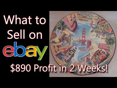What Sells on ebay? Vintage Photo, Puzzle, Hair Curlers, Crock Grill - Dorky Thrifters Fulltimers