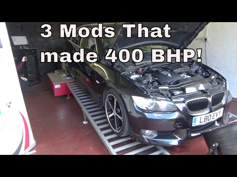 3 Simple Mods To Make Your BMW 335i 400 BHP!