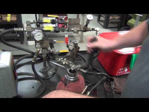 Hydraulic Paving Vibrators: Testing the Hydraulic Motor