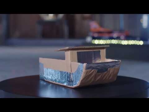 Trailer: Design and build a cardboard boat