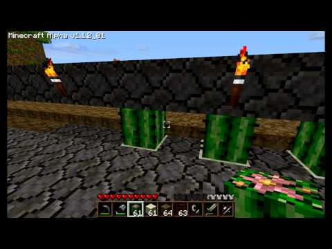 How to get tons of TNT - Minecraft Tutorial 01