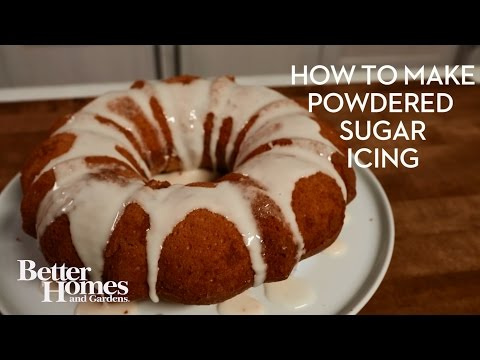 How to Make Powdered Sugar Icing