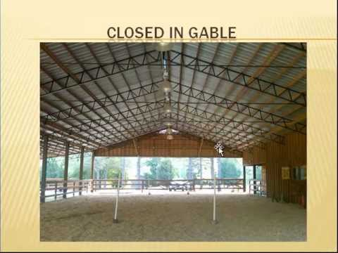 Steel Roof Truss for  pole barn, pole shed, metal building