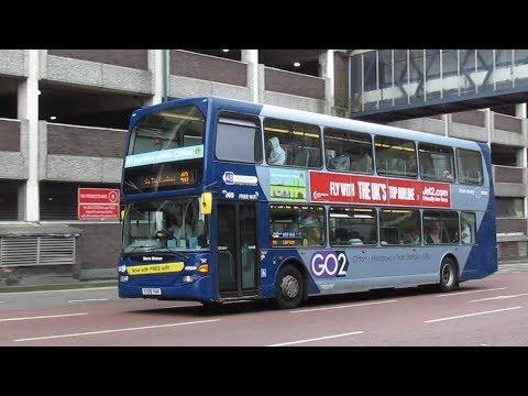 Buses Trains & Trams in Nottingham - June 2017