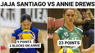 JAJA SANTIAGO VS ANNIE DREWS: THE REVENGE OF JT MARVELOUS