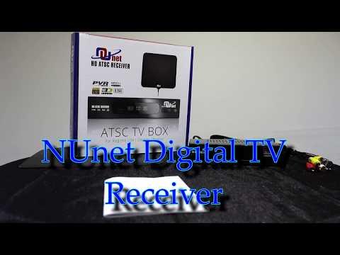 NUnet HD TV Receiver tv box by Nuvending