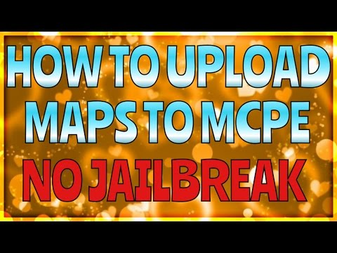 [0.10.4] How To Upload Maps For Minecraft Pocket Edition (NO JAILBREAK)