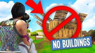 NO BUILDING CHALLENGE in Fortnite Battle Royale