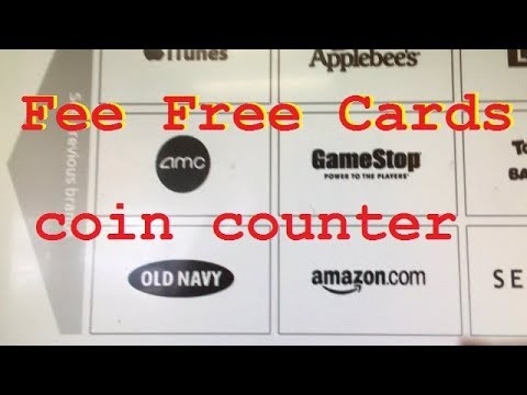 Coin Counter for Amazon Gift code no fee